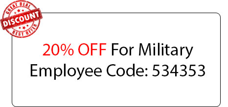 Military Employee Discount - Locksmith at Elk Grove, CA - Elk Grove 24 Locksmith